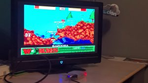 RetroPie worms